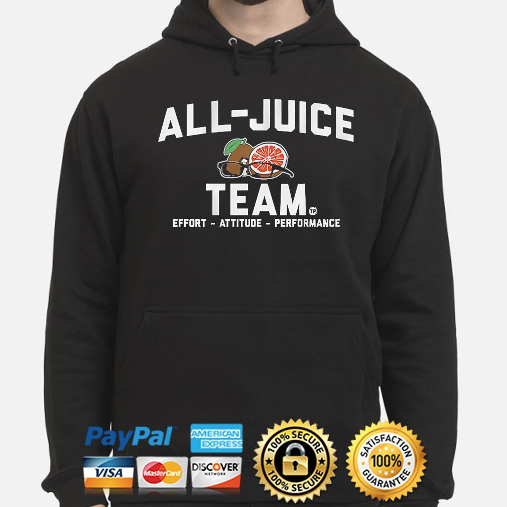 Terez paylor all-juice team 2021 hoodie
