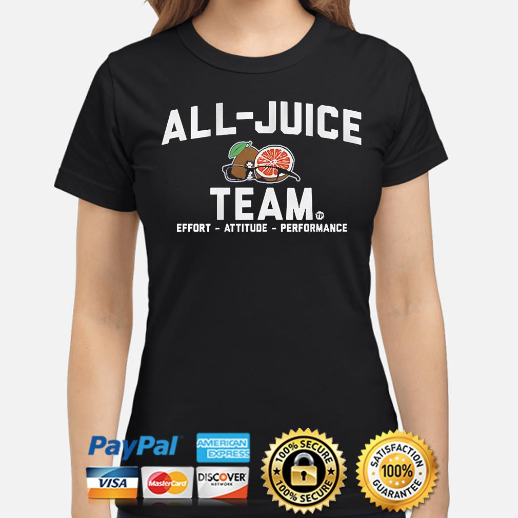 Terez paylor all-juice team 2021 ladies-shirt