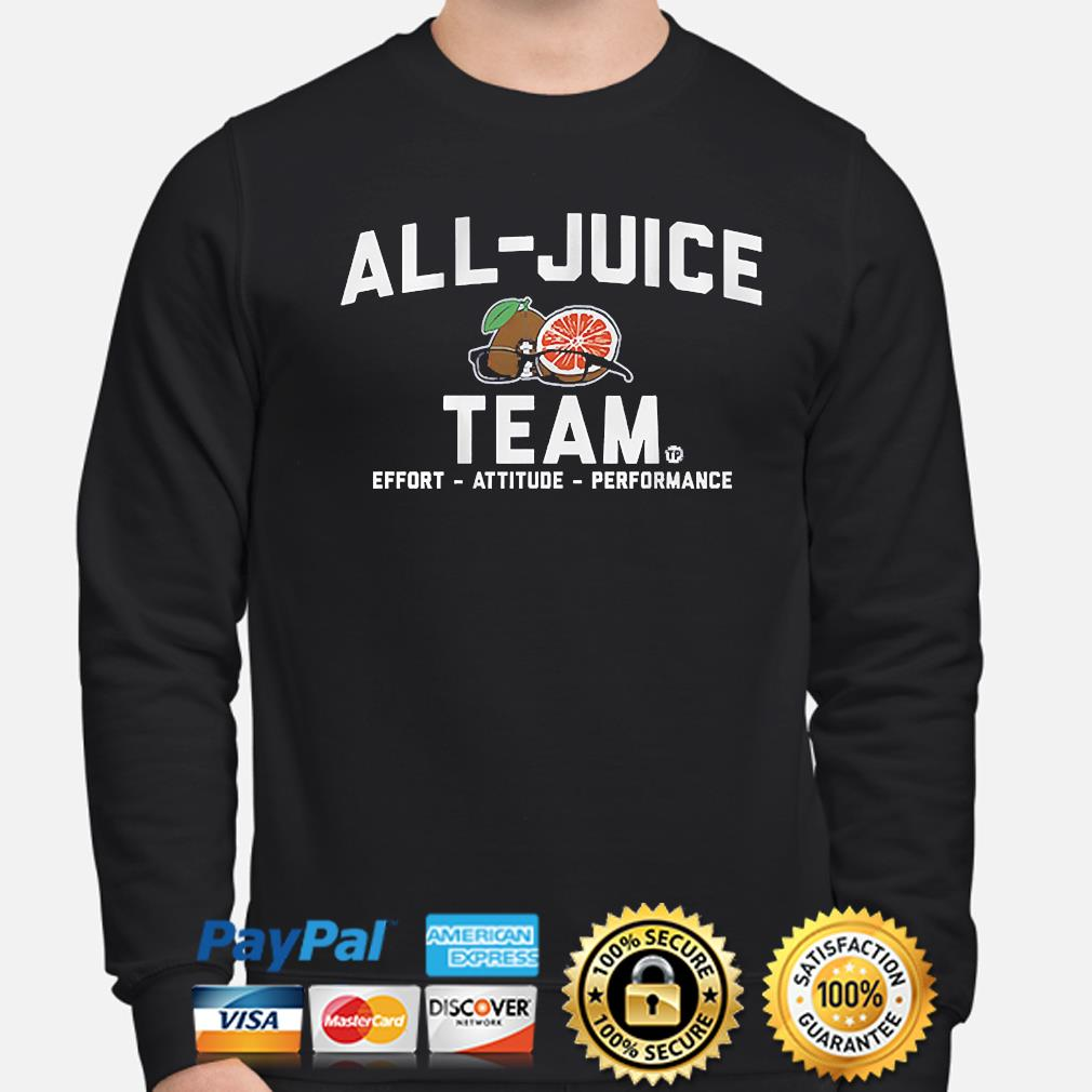 Terez paylor all-juice team 2021 sweater