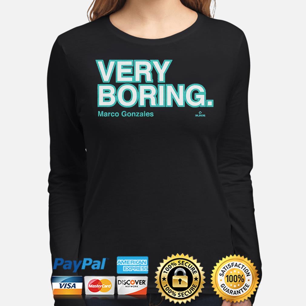 Very boring Marco gonzales long-sleeve