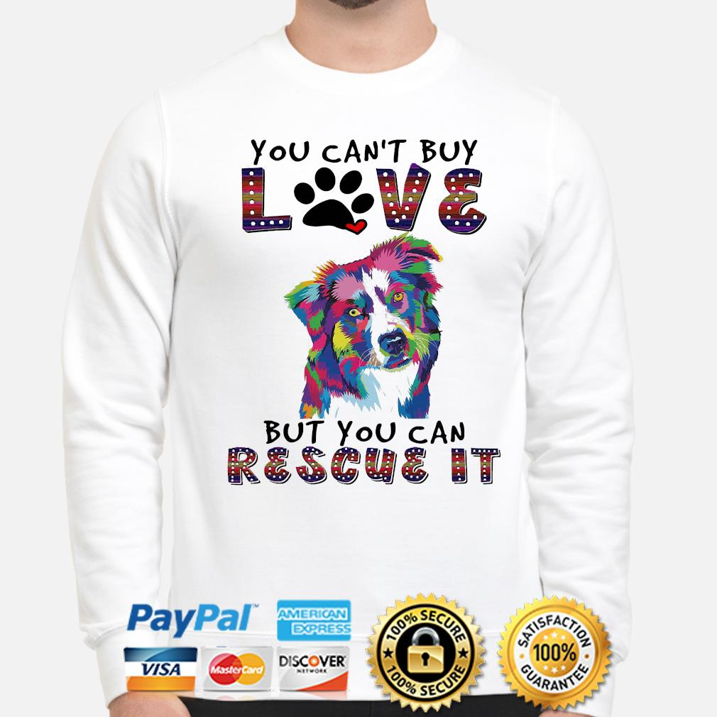 You can't buy love but you can rescue it s sweater