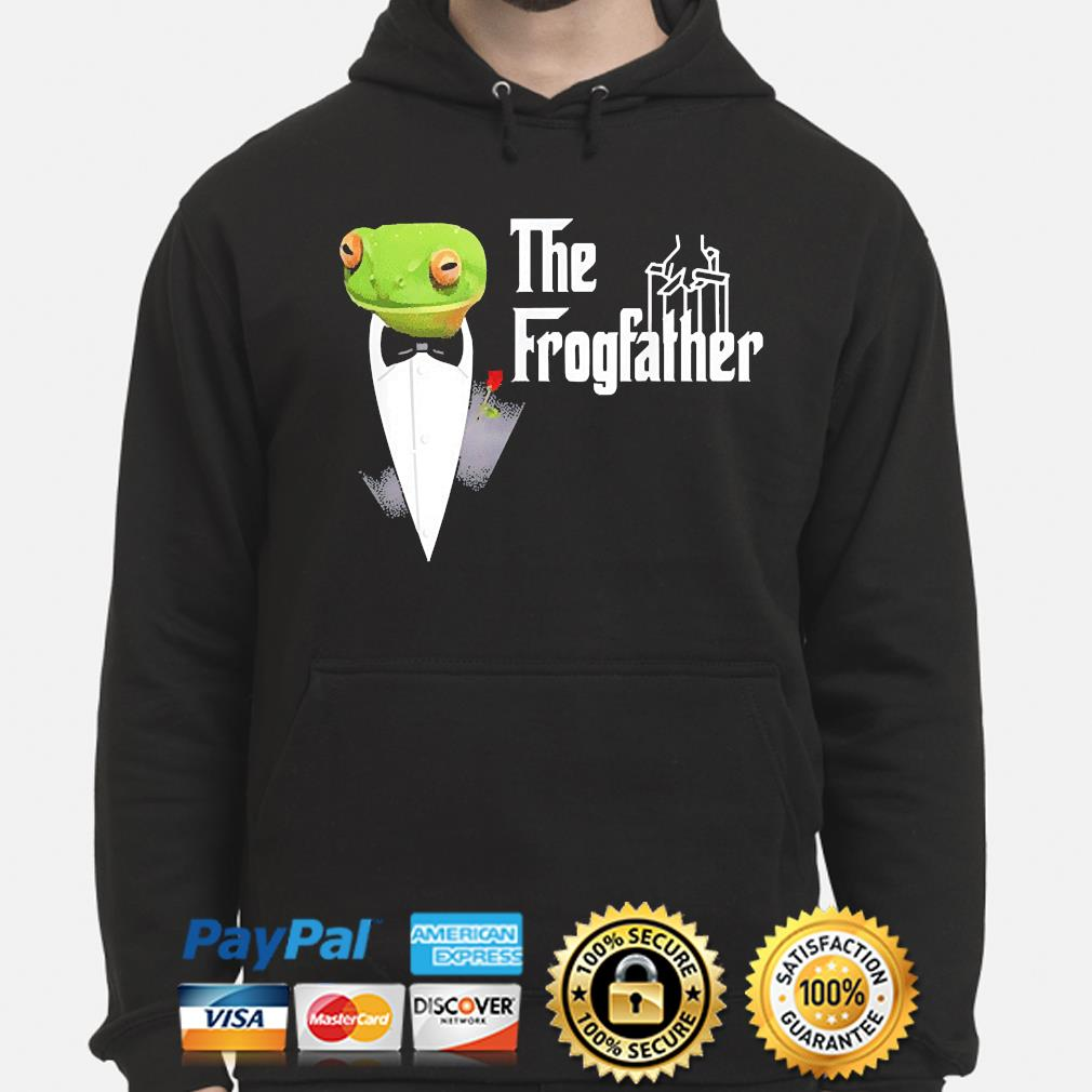Frog father or frogfather for frogs fan frog lovers hoodie