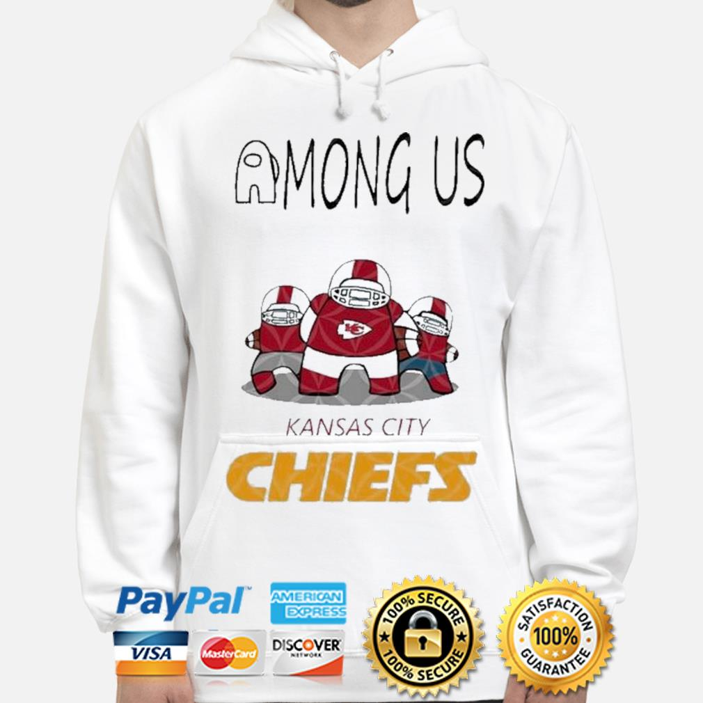 Kansas city Chiefs among us nfl Kansas city Chiefs among us hoodie
