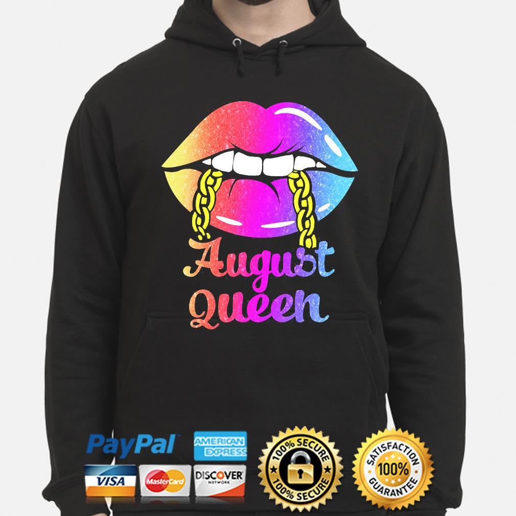 Lip August queens hoodie