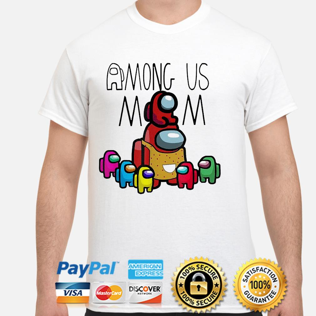 Official among us mom mother day shirt