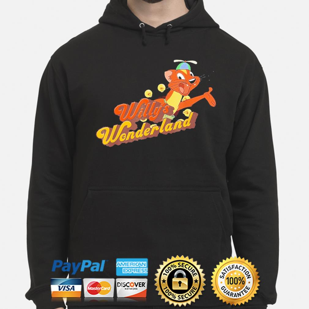Official Willy's wonderland baby hoodie