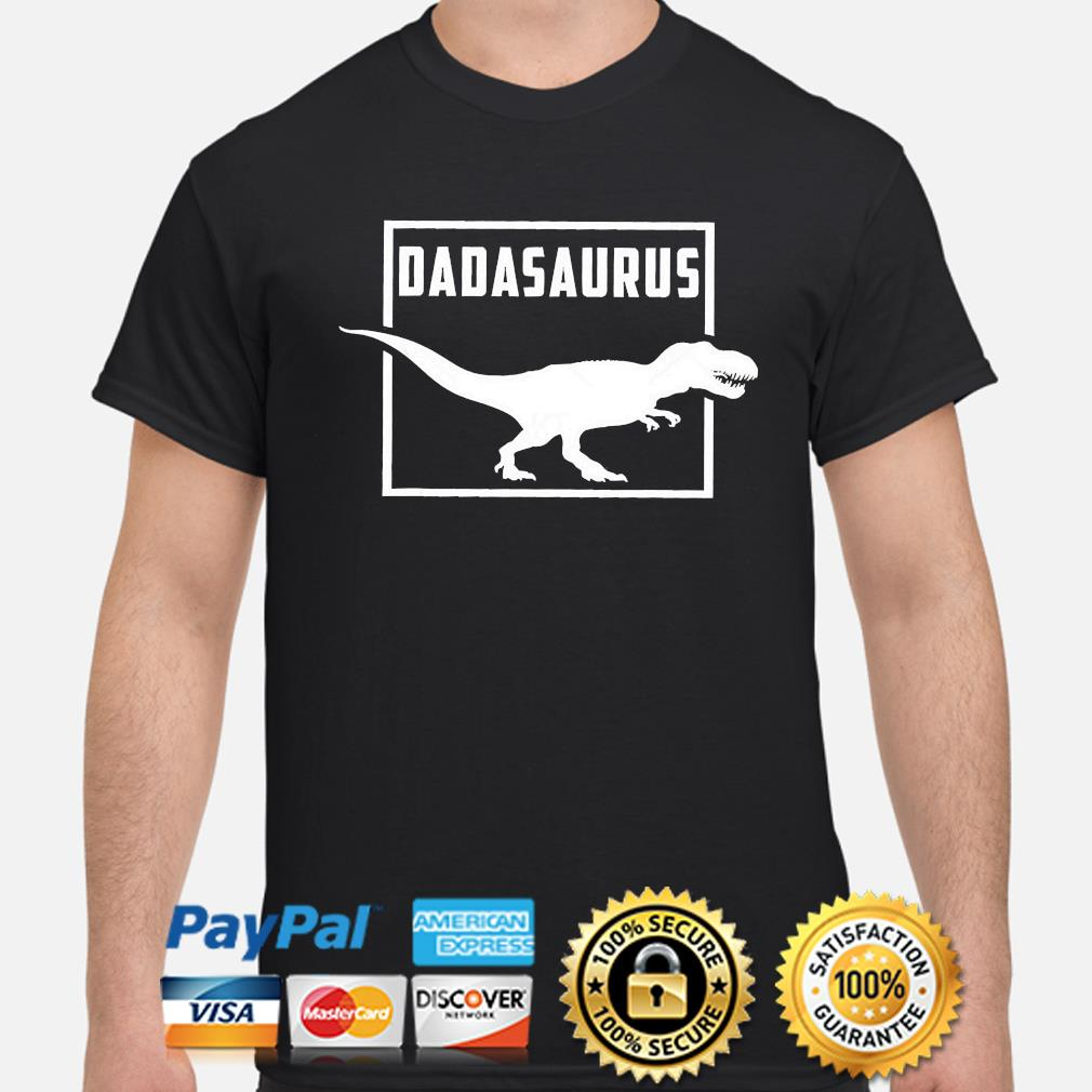 Dinosaur father shirt