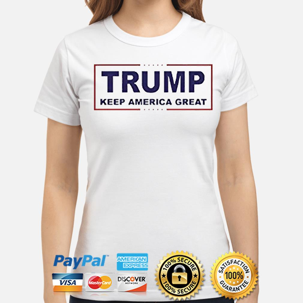 Trump keep america great shirt