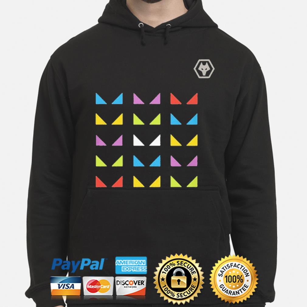 Wolves one pack warm up sure hoodie